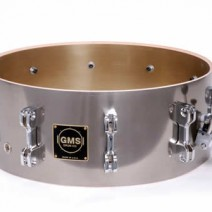 Revolution Snare Drum Nickle Brass shell