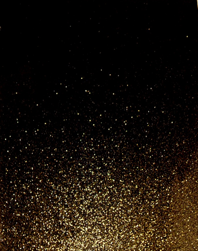 Strass Vector, Gold Glitter Texture On Black Background ...