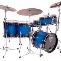 Blue Black Burst Ash